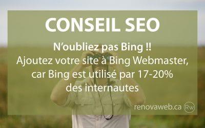 Bing est important en SEO